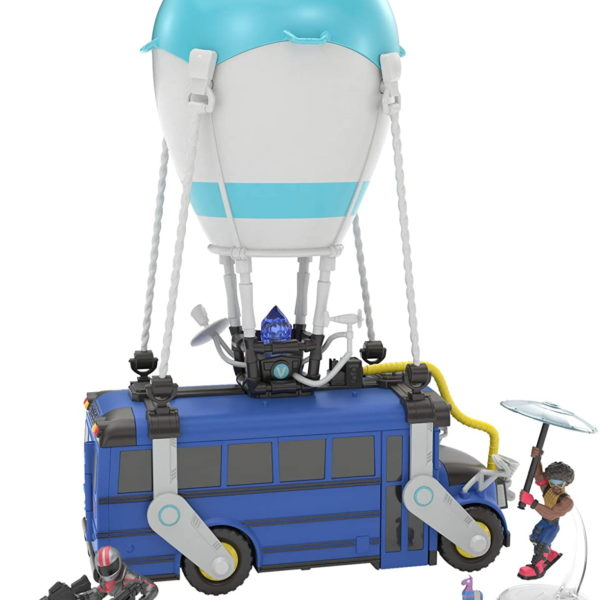 Fortnite Fortnite Battle Royale Collection Battle Bus and 2 Exclusive Figures Funk Ops and Burnout, Blue