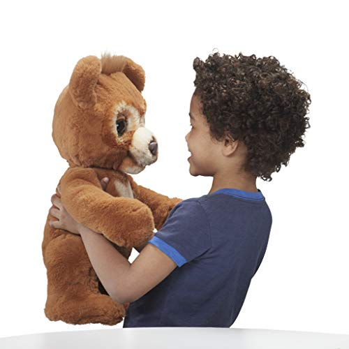 Fur Real Friends Cubby le curieux ours interactive plush toy 4 ans