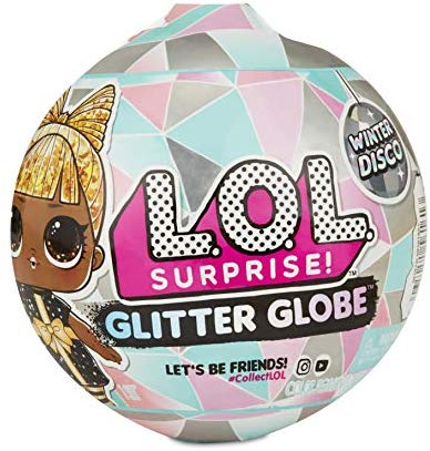 LOL Surprise Doll Winter Disco Glitter Globe Snow Leopard /& Figure 8 ~ Chill Out