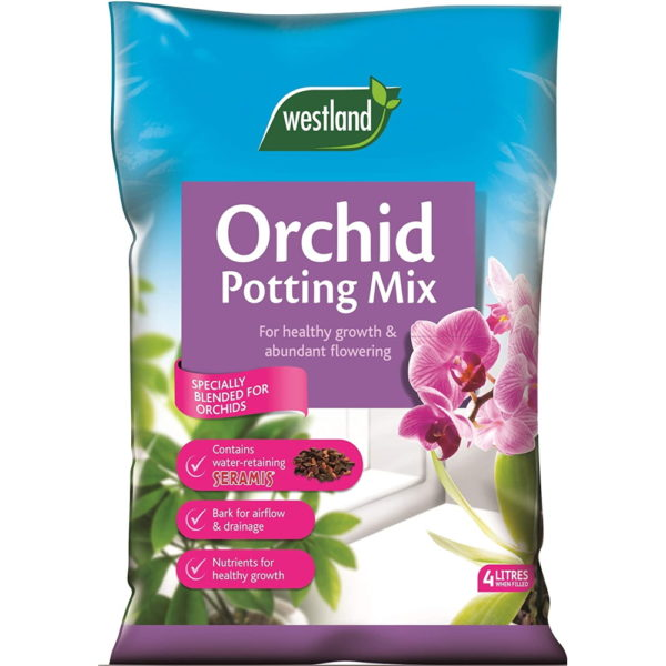 Westland Orchid Potting Compost Mix and Enriched with Seramis, 4 L - YourShoppingSpot - Your Shopping Spot