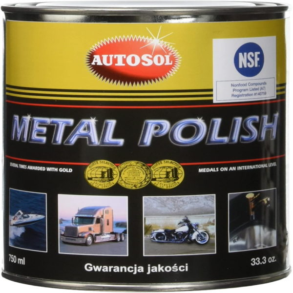 Autosol Metal Polish, 750 ml