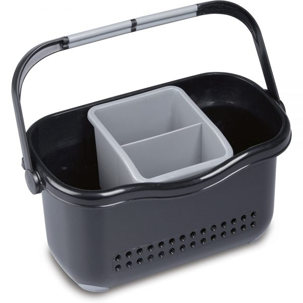 ADDIS Sink Caddy, Black/Grey